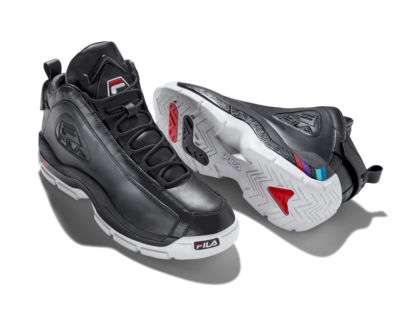 Fila Grant Hill 2 Hall of Fame 'Black' (Lateral and Sole)