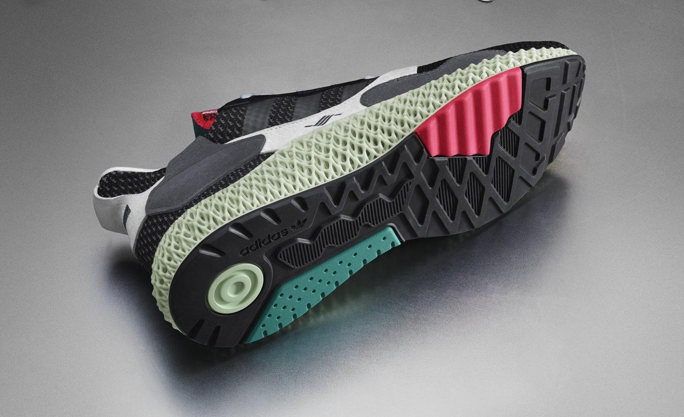 Adidas Consortium ZX4000 4D BD7931 (Bottom)