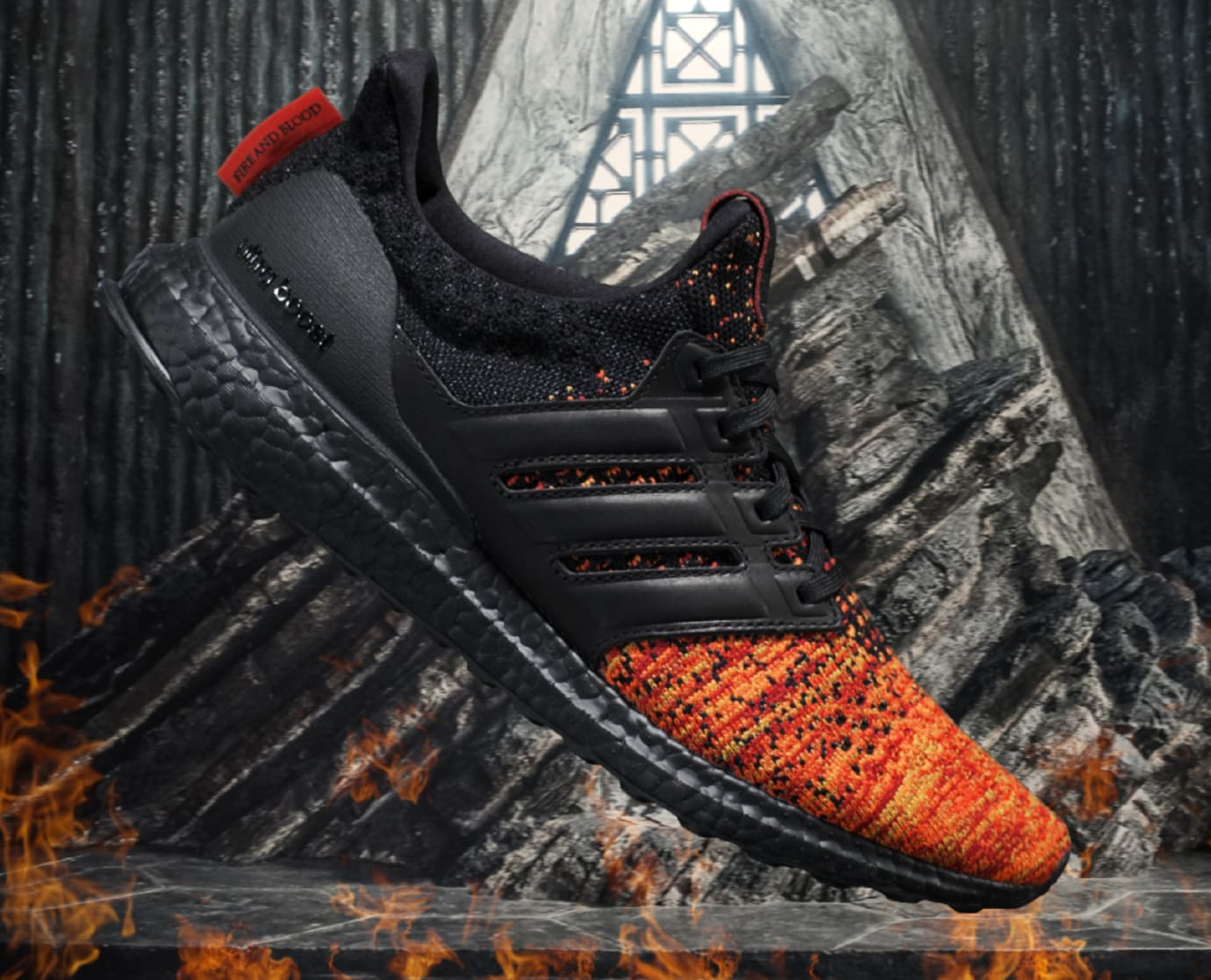 'Game of Thrones' x Adidas Ultra Boost 'House Targaryen' 2
