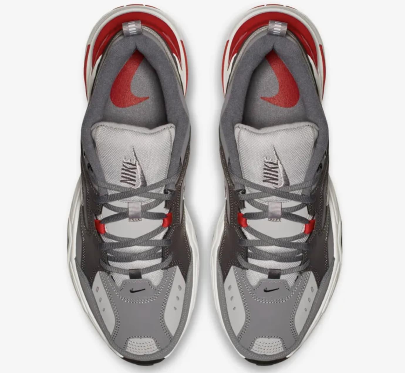 Nike M2K Tekno 'Gunsmoke/Natural Heather/University Red' Release Date
