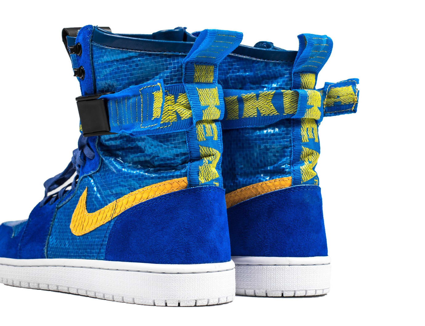 IKEA Air Jordan 1 High by The Shoe Surgeon Heel