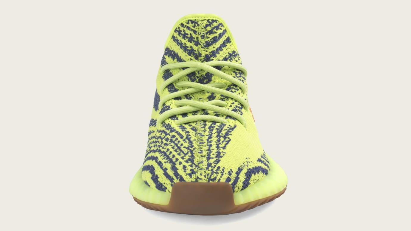 outlet store 4f498 5b61f Image via Adidas Adidas Yeezy Boost 350 V2  Semi Frozen Yellow  B37572  (Front)