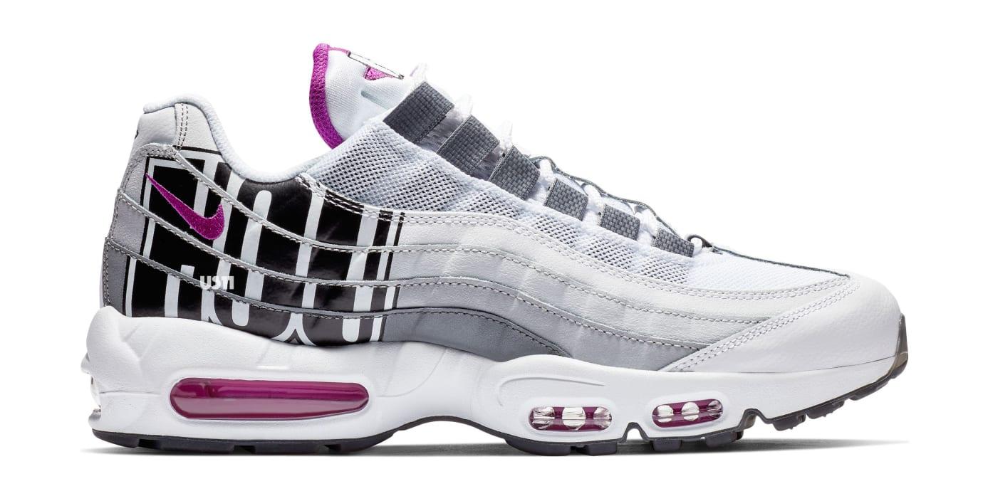 Nike Air Max 95 'Houston' Vivid Purple/Black/Cool Grey' (Lateral)