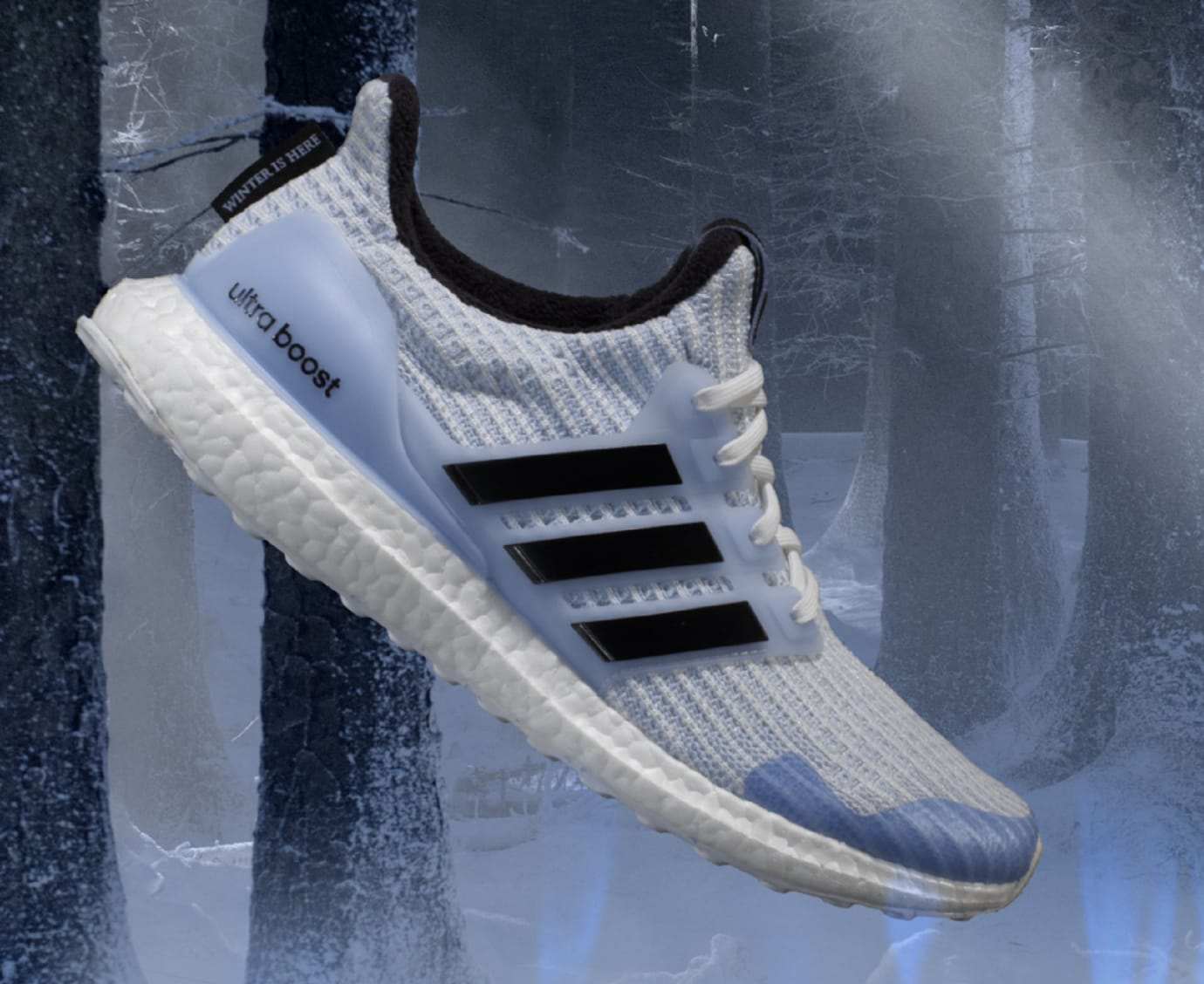 'Game of Thrones' x Adidas Ultra Boost 'White Walker'