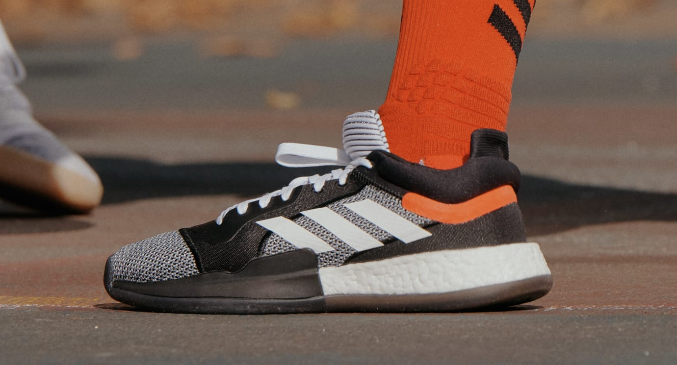 c697226ebd8 Image via Adidas Adidas Marquee Boost (On-Foot)