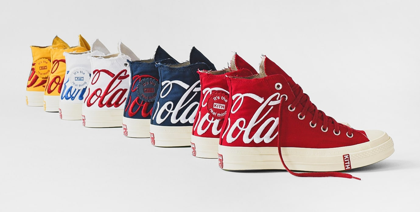 Kith x Coca-Cola x Converse Chuck 70 Collection 2