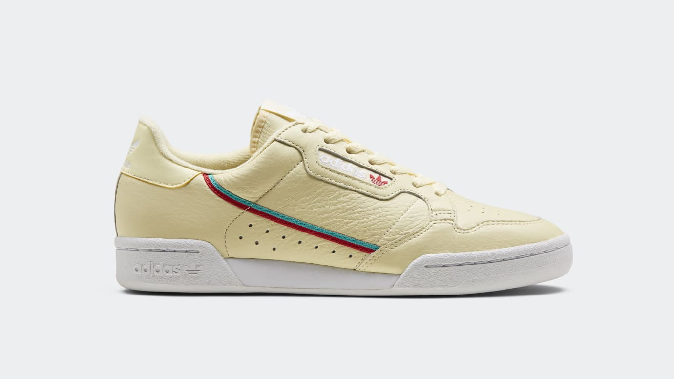 the best attitude 571aa 7734b Adidas Continental 80 Yellow AQ1054 Release Date