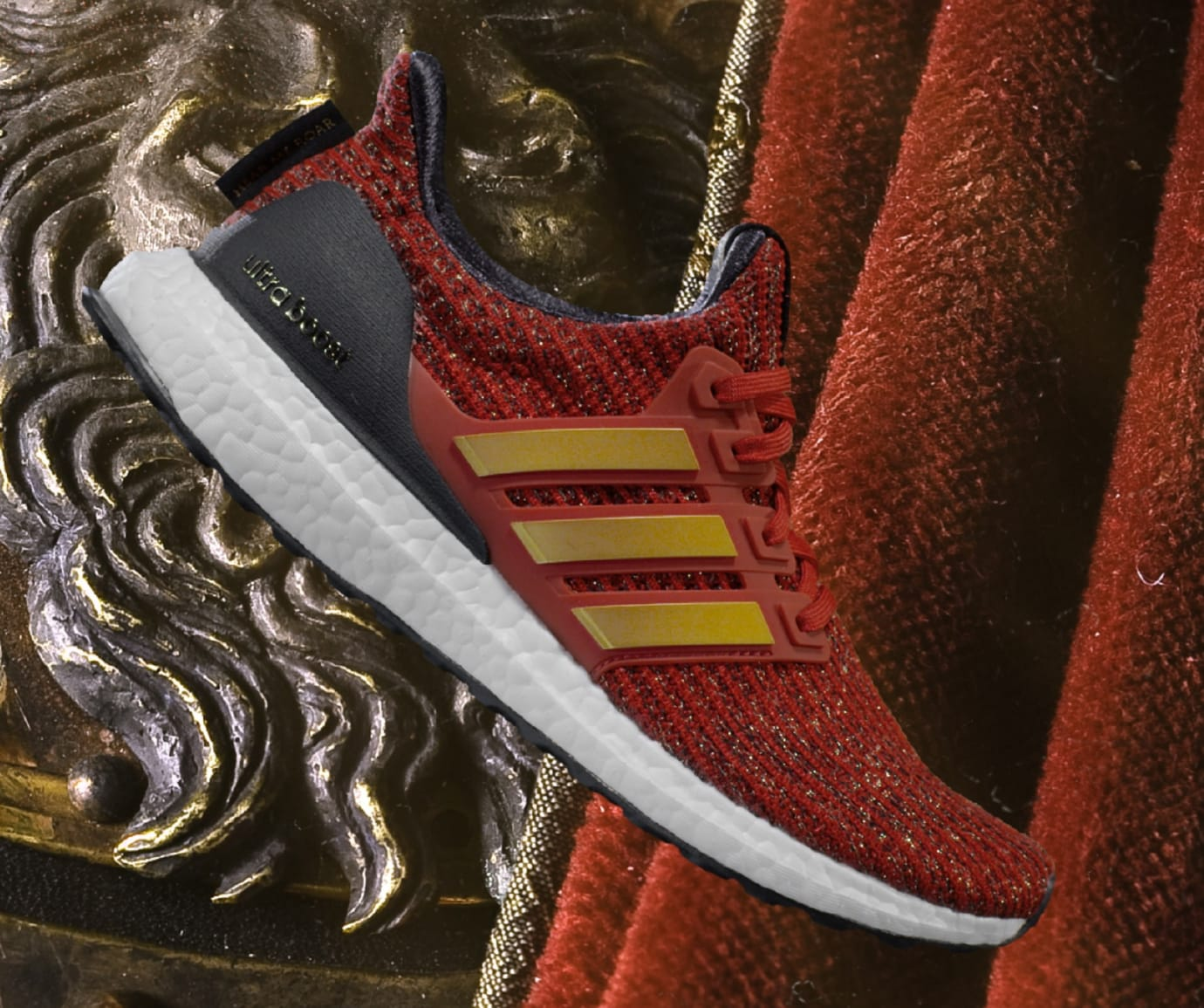 'Game of Thrones' x Adidas Ultra Boost 'House Lannister'