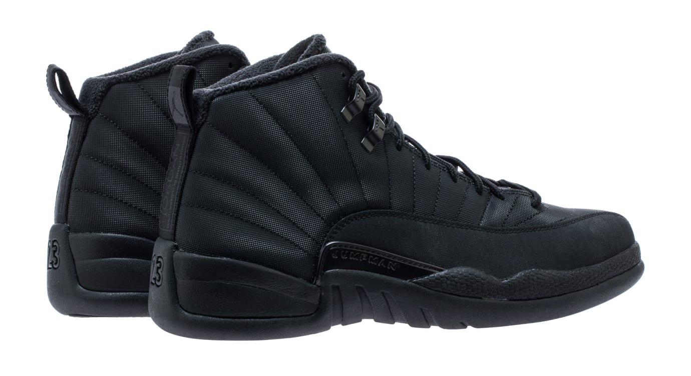 Air Jordan 12 'Black/Winterized' BQ6851-001 (Heel)