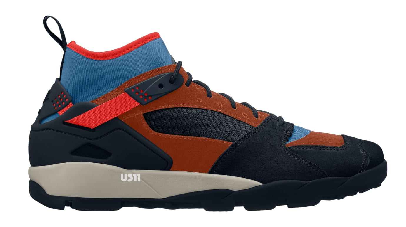 Nike Air Revaderchi Brown/Blue