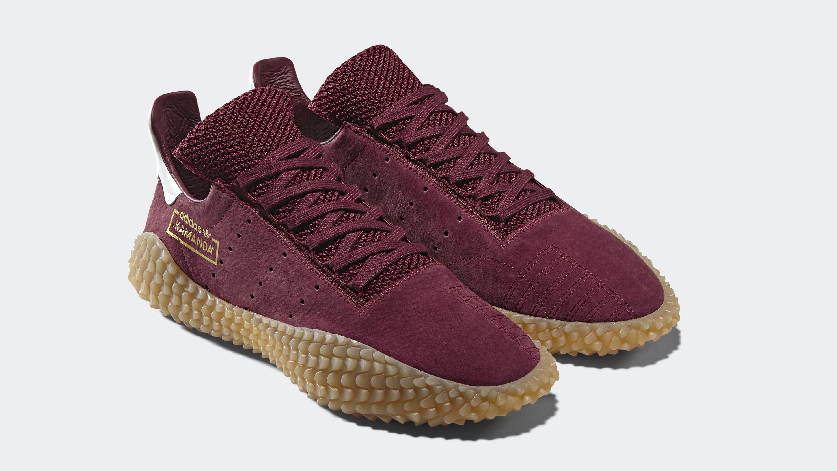 Adidas Kamanda 'Collegiate Burgundy/Gum' CQ2219 (Pair)