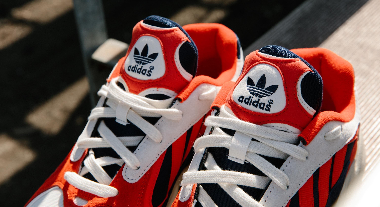 Adidas Yung-1 'Chalk White/Core Black/Collegiate Navy' B37615 (Tongue)