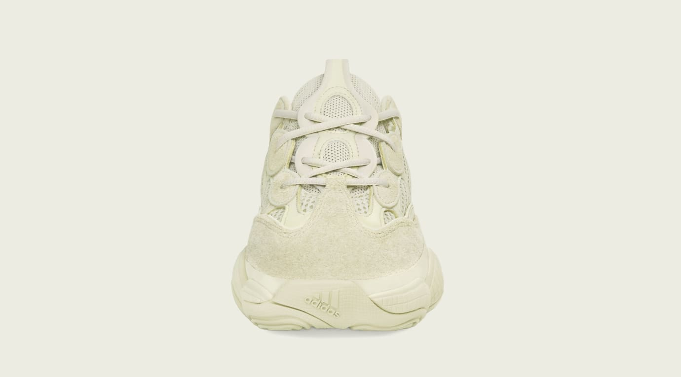 dd7d1160b56 Image via Adidas Adidas Yeezy 500  Supermoon Yellow  DB2966 (Front)