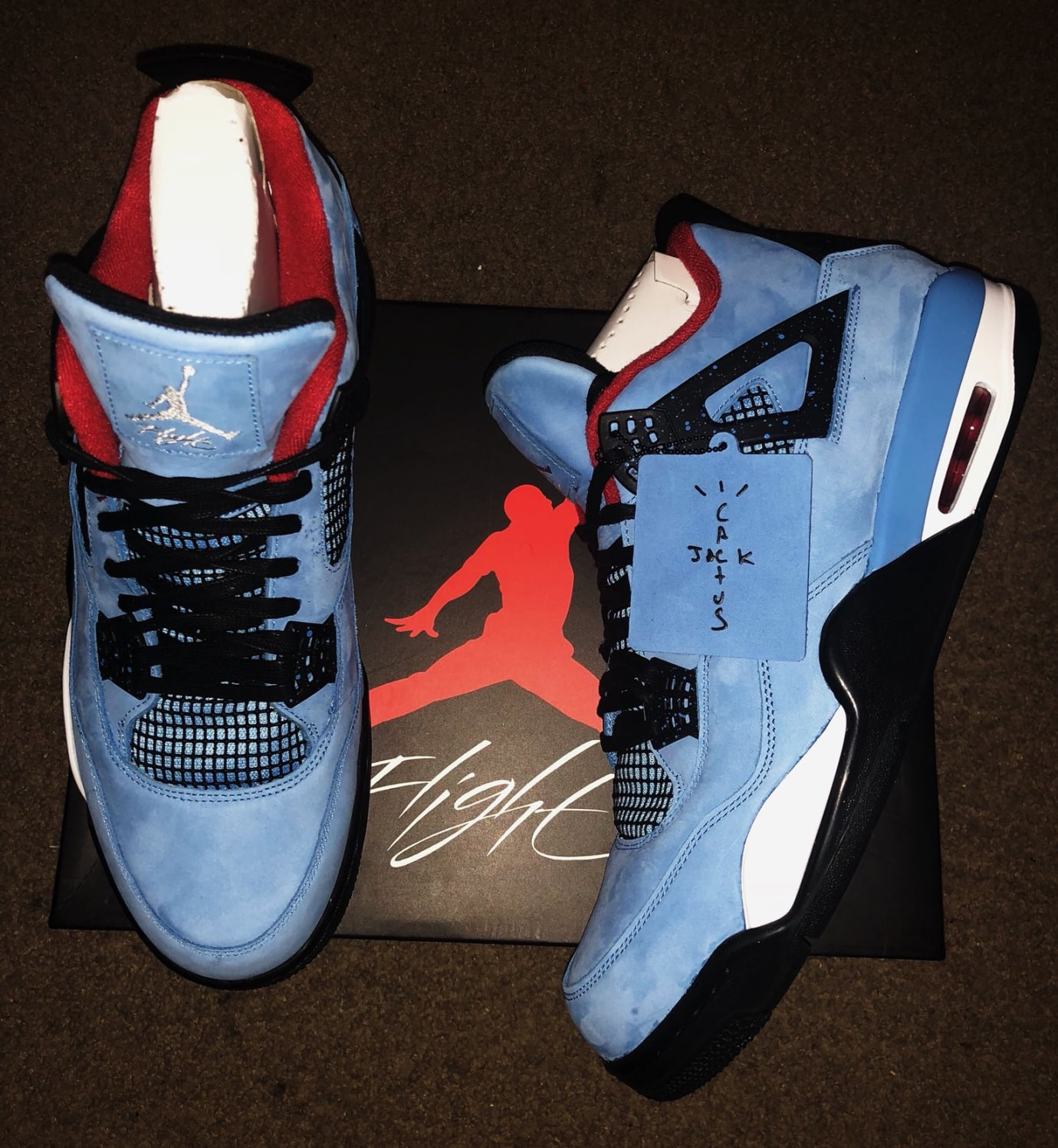 Travis Scott x Air Jordan 4 Oiler Release Date 308497-406 Top