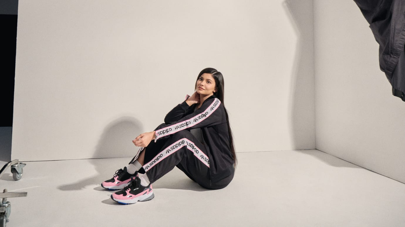 big sale d132c 26cb6 Kylie Jenner Is the New Face of the Adidas Falcon | Sole ...