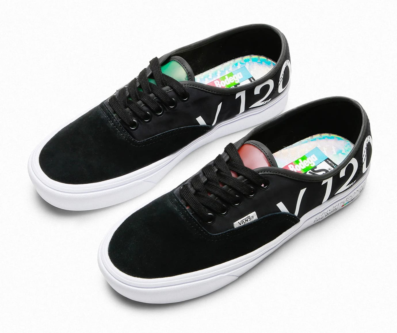 Bodega x Vault by Vans Authentic 'Blank Tapes' (Pair)