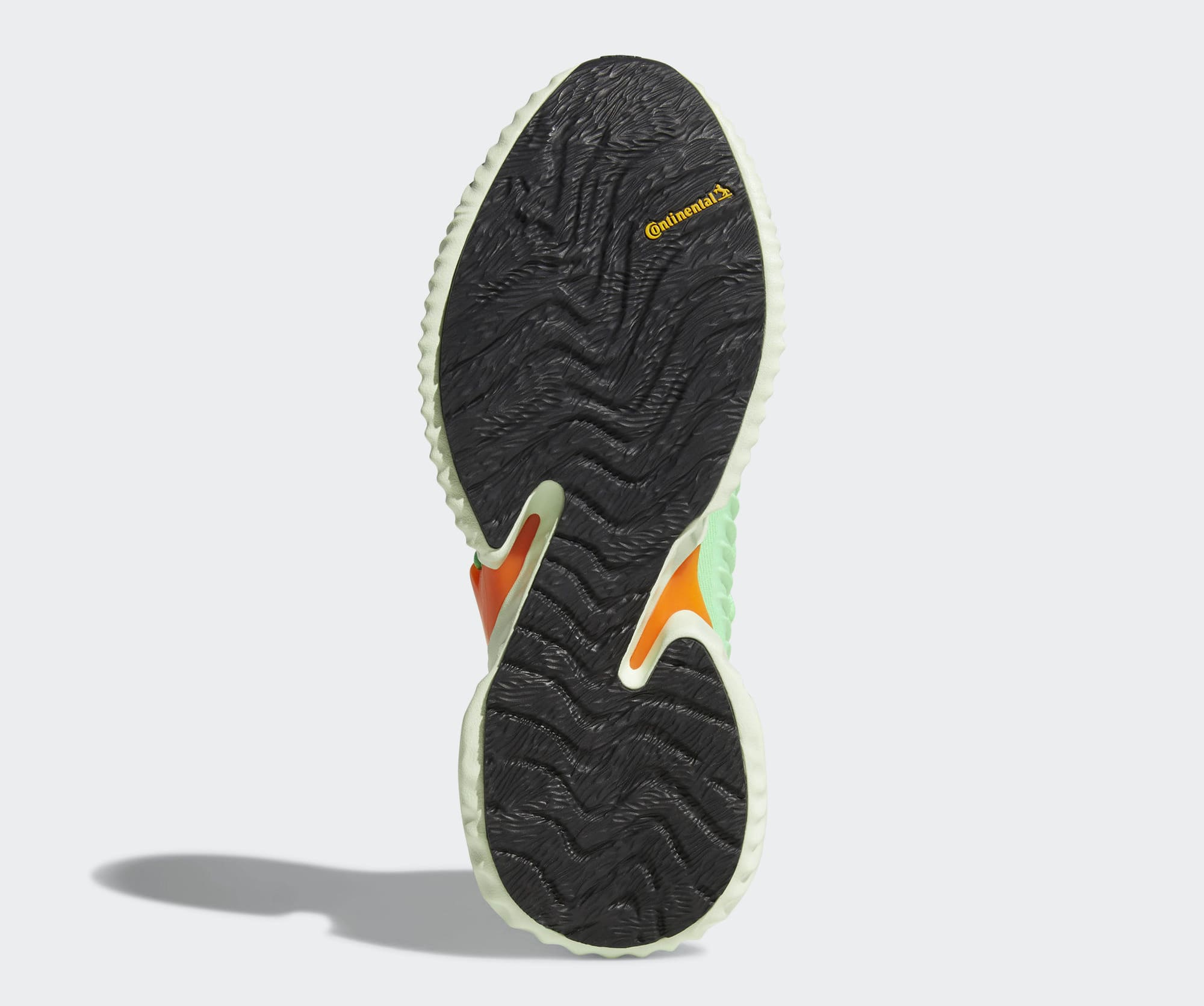 separation shoes b0b1b 81ea8 Image via Adidas Adidas AlphaBounce Instinct Shock LimeAero GreenHi-Res  Orange CG5515