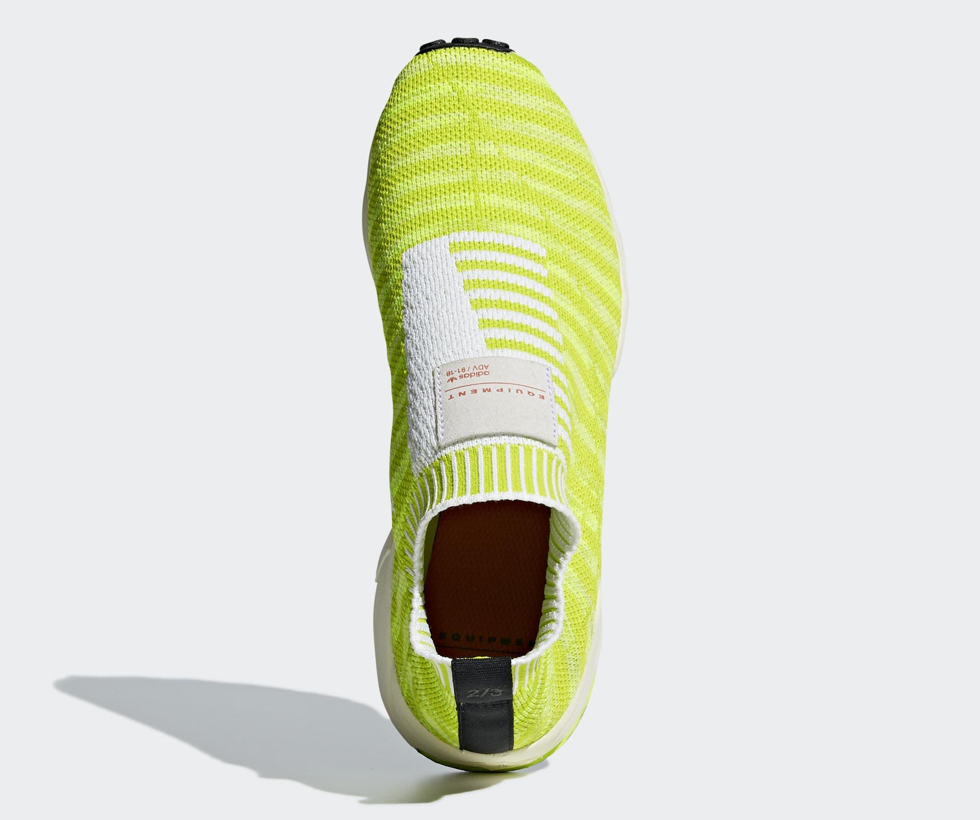 Adidas EQT Support Sock PK 'Solar Yellow' B37545 (Top)