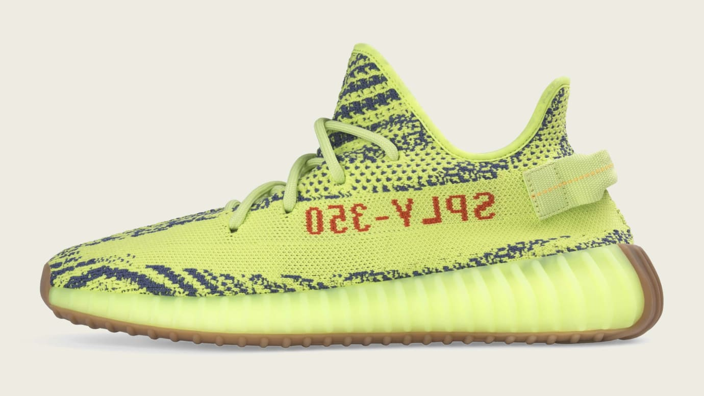 2cd4e06ea61 Adidas Yeezy Boost 350 V2  Semi Frozen Yellow  B37572 Release Date ...