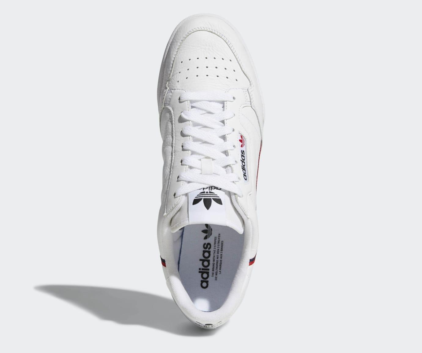 promo code 6c6e6 83a54 Image via Adidas Adidas Continental 80 Rascal B41674 (Top)