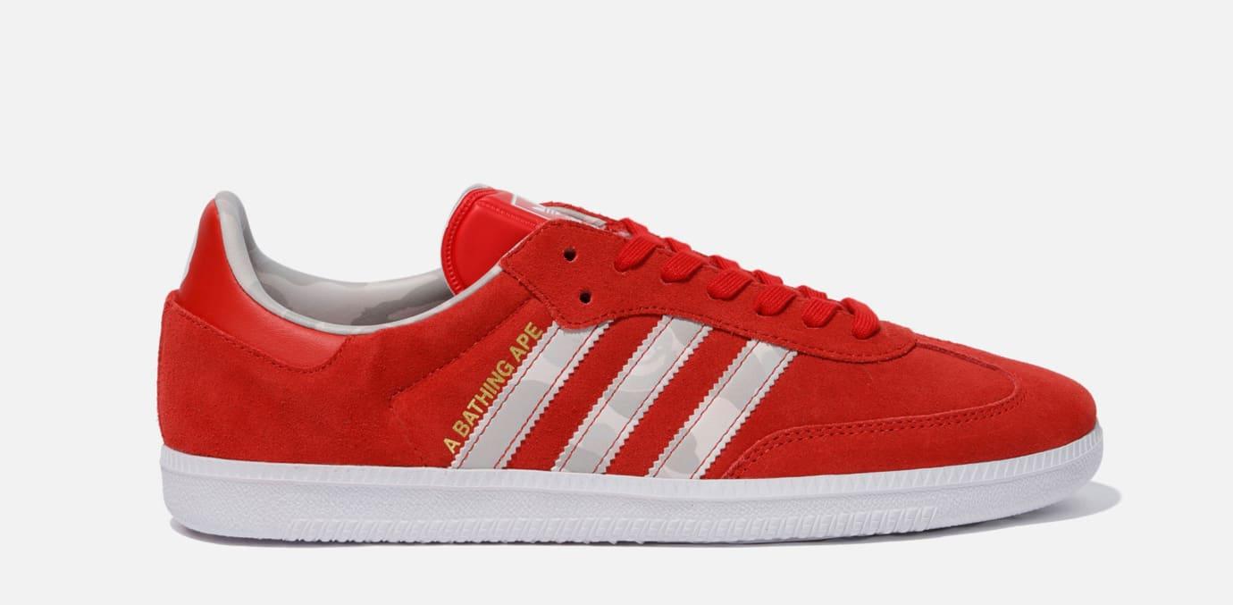 cheaper bc99b f770a Bape x Adidas Samba  Winning Collection