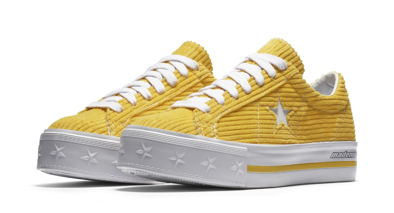 Mademe x Converse One Star 'Vibrant Yellow' (Pair)