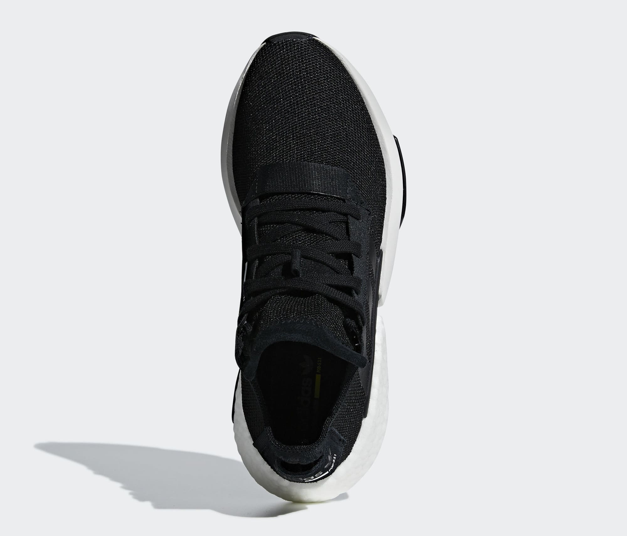 Adidas P.O.D. System Black/White B37366 (Top)