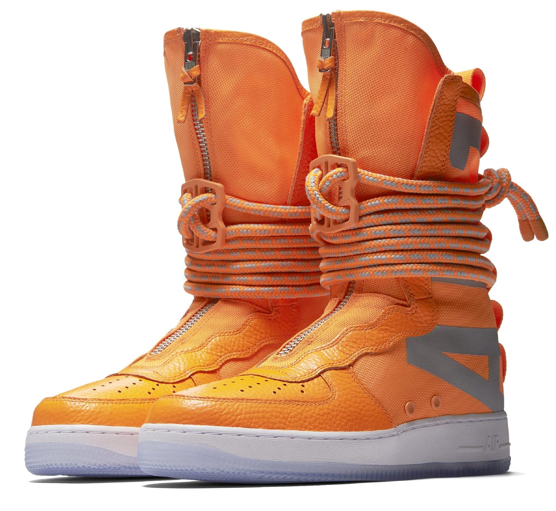 Nike SF AF1 High Orange
