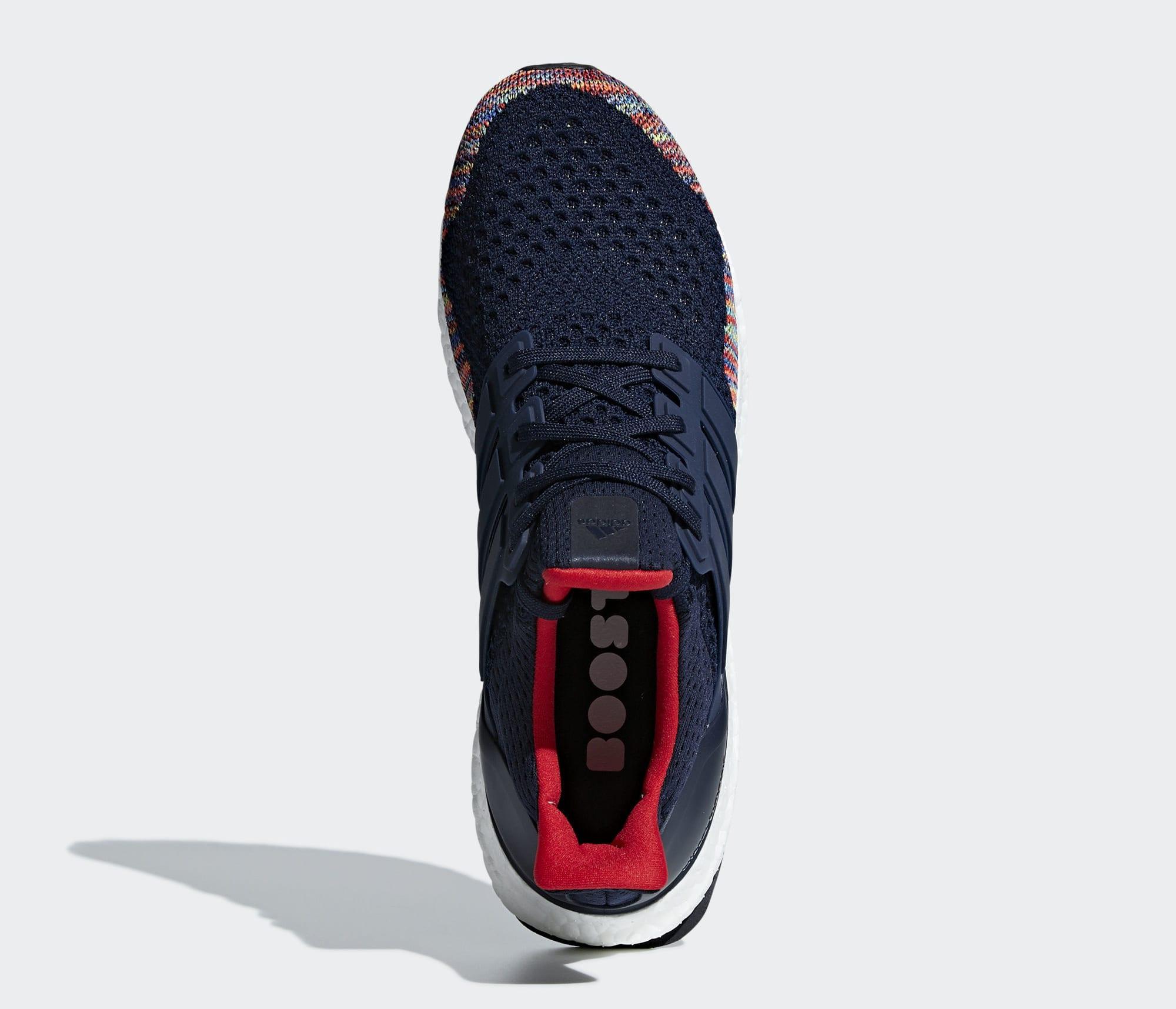 Adidas Ultra Boost 1.0 'Navy Multi' BB7801 (Top)