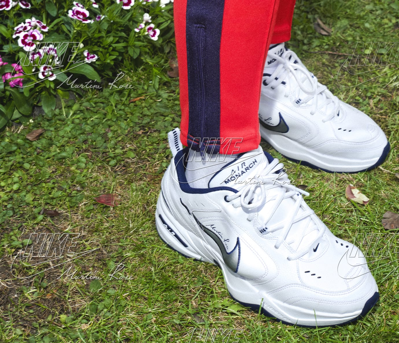 hot sale online 31c5b 55707 Image via Nike Martine Rose x Nike Air Monarch Collection 3