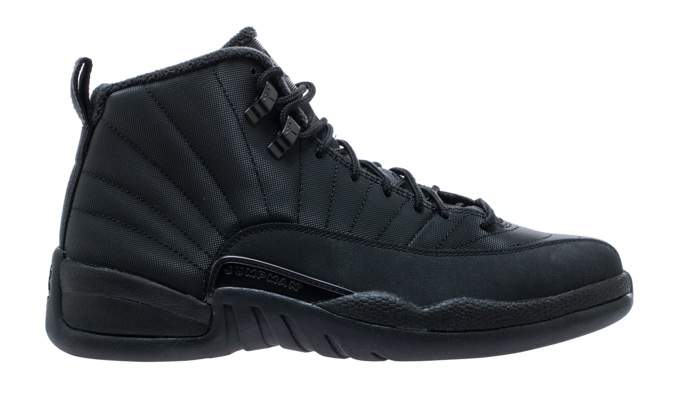 Air Jordan 12 'Black/Winterized' BQ6851-001 (Lateral)