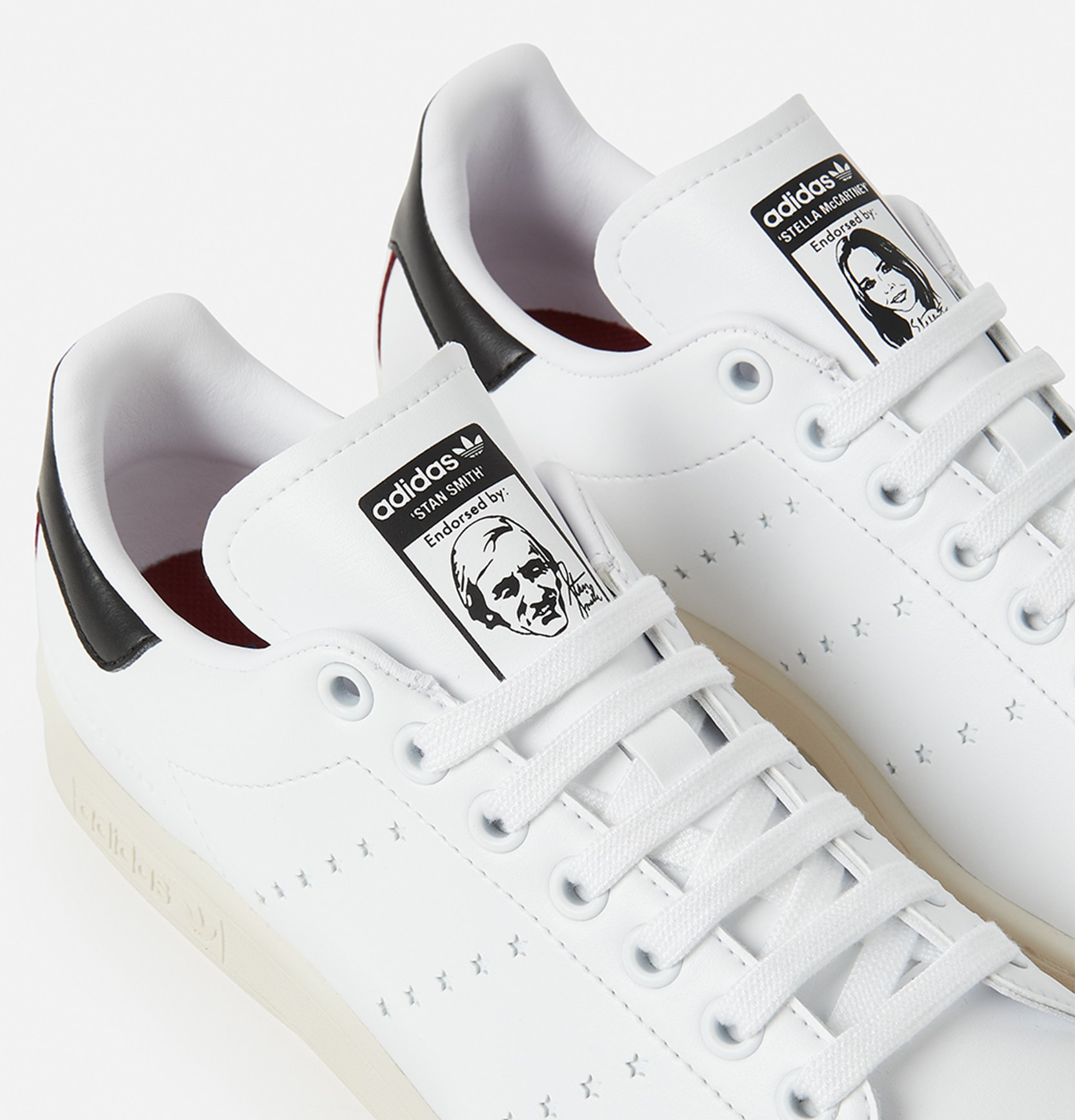 Stella McCartney x Adidas Stan Smith (Tongue)