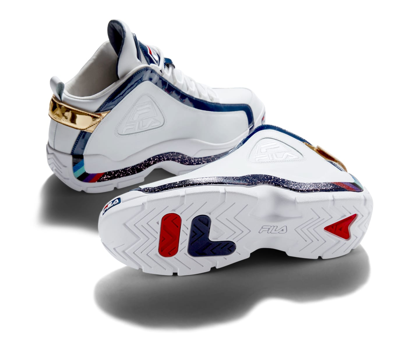 c249da963f9b Fila Grant Hill 2 Hall of Fame  White  (Lateral and Sole)