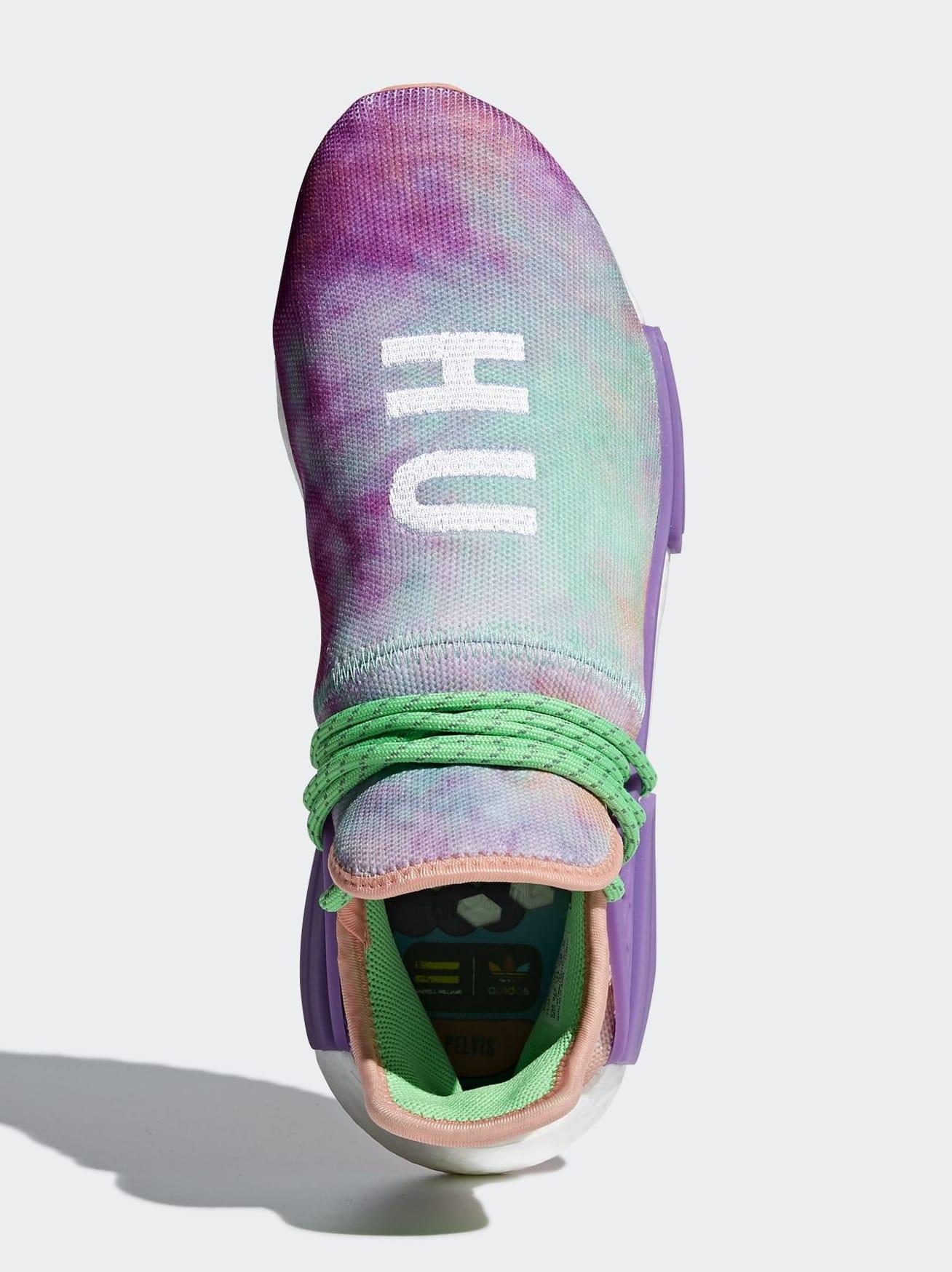 Pharrell x Adidas NMD HU Trail 'Holi' AC7034 (Top)