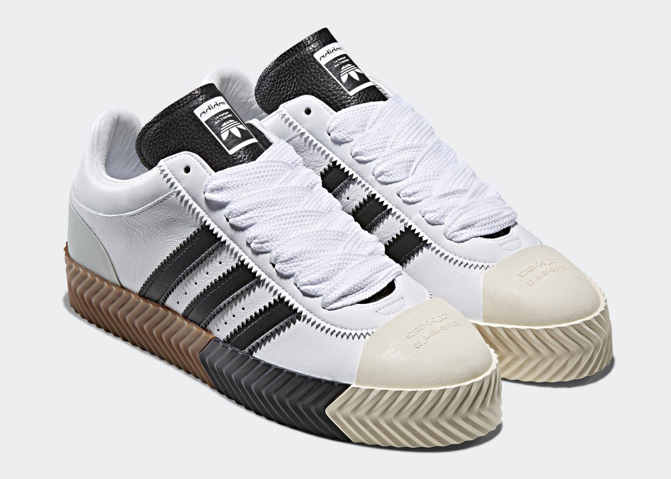 outlet store 70167 d26fb Alexander Wang x Adidas AW Skate Super White (Pair)