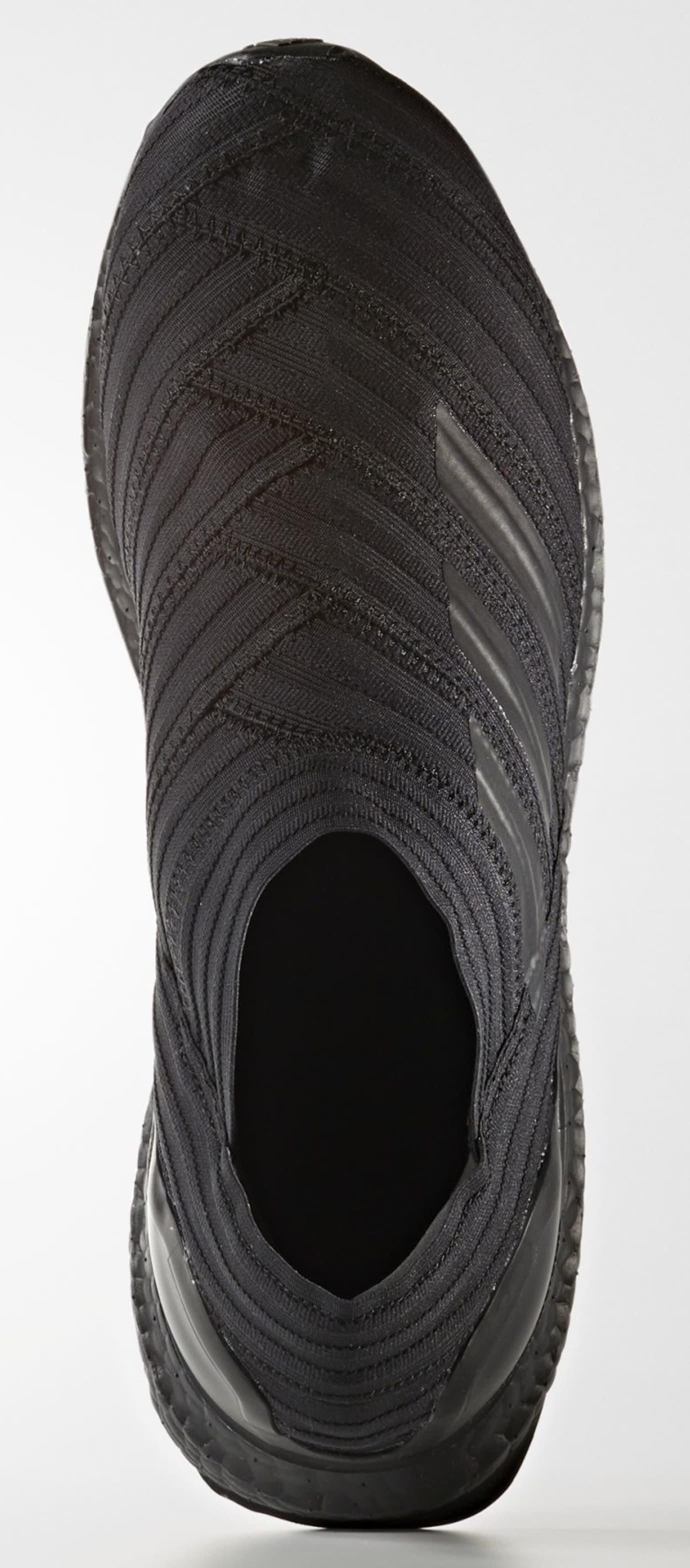 6f12f58ed85c Image via Adidas Adidas Nemeziz Tango 17+ 360 Agility  Triple Black  CG3657  (Top)