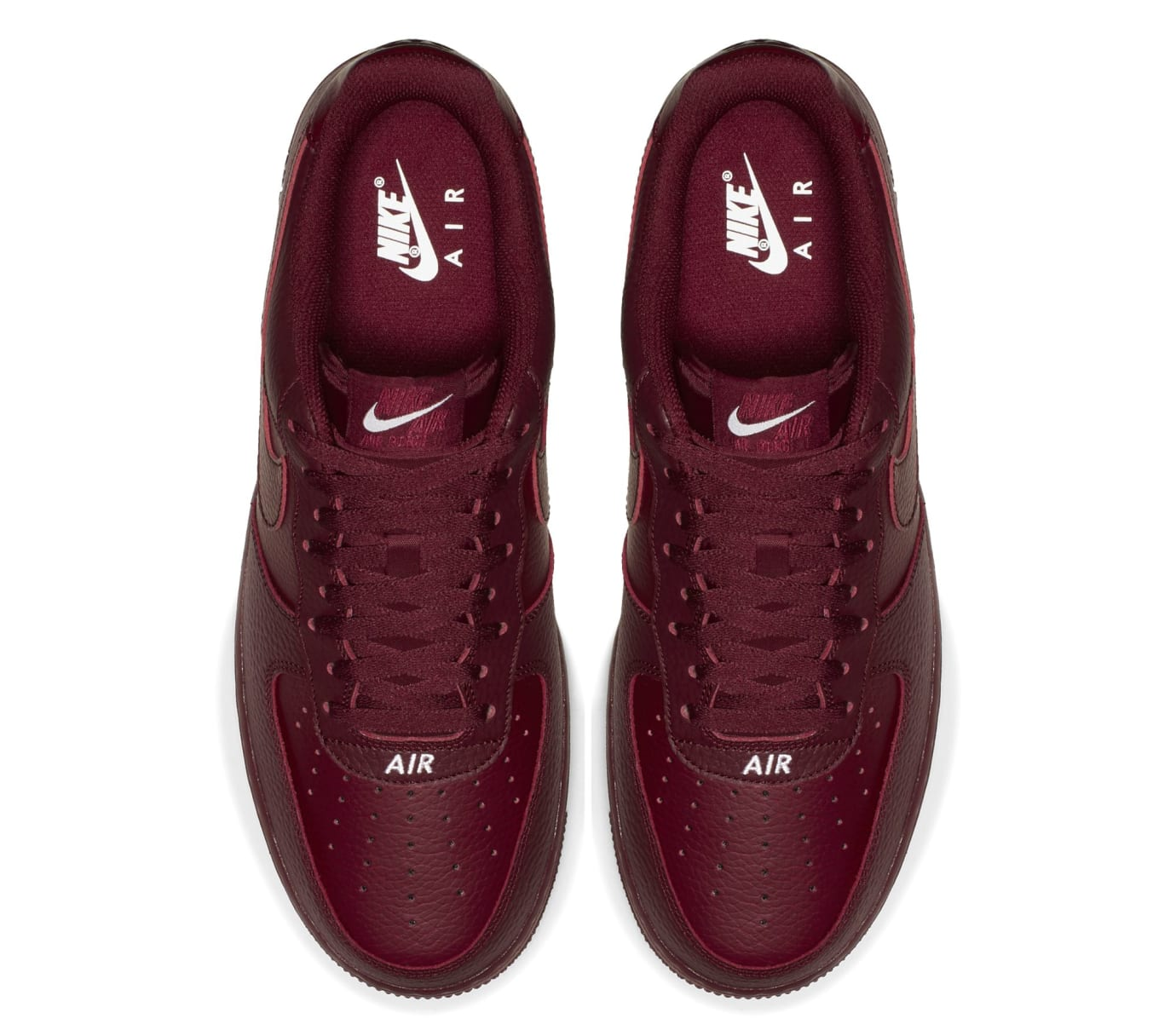 Nike Air Force 1 07 LTHR 'Team Red' (Top)