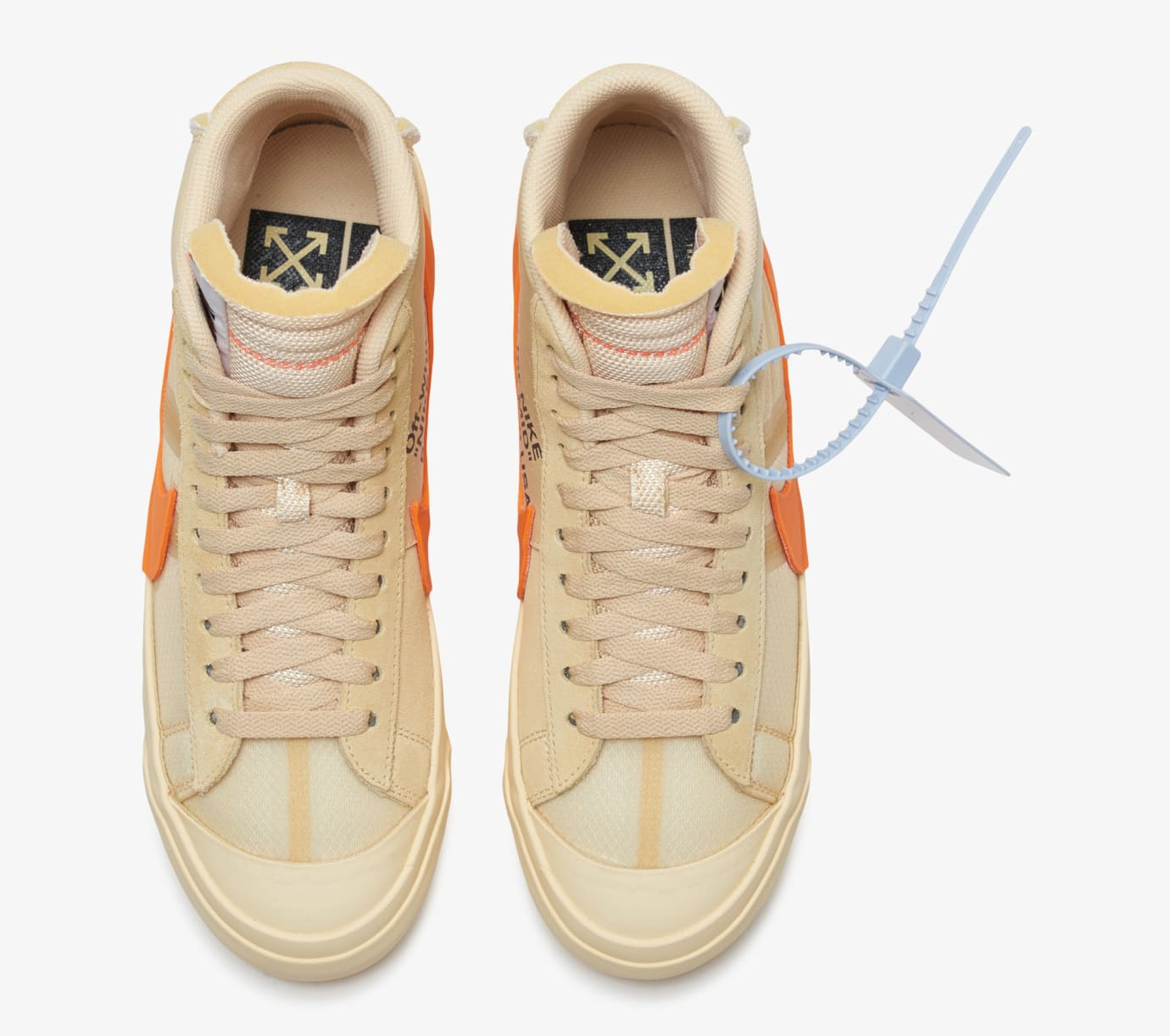 d4f44495bf61 Image via Nike Off-White x Nike Blazer  All Hallows  Eve  AA3832-700 (