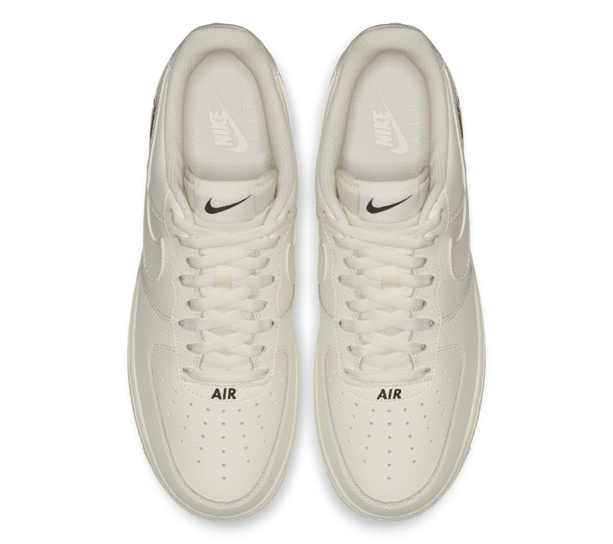 Nike Air Force 1 07 LTHR 'Sail' (Top)