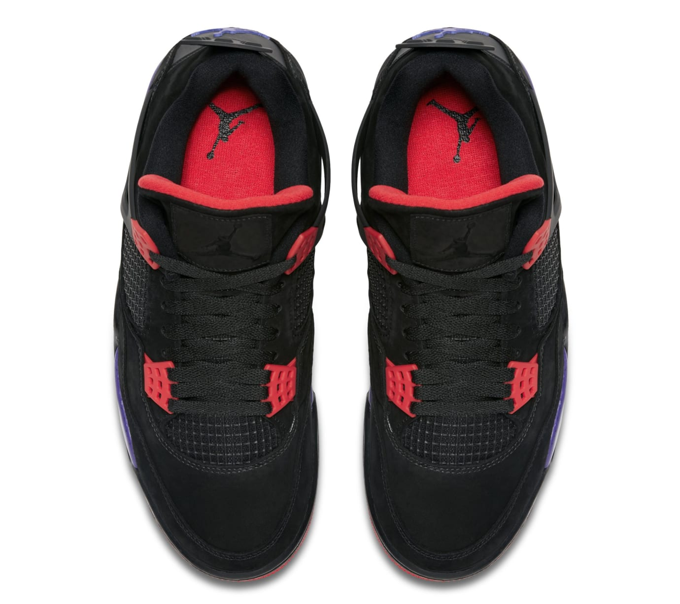 49b86b682853b7 Air Jordan 4 Retro NRG  Black University Red Court Purple   AQ3816 ...