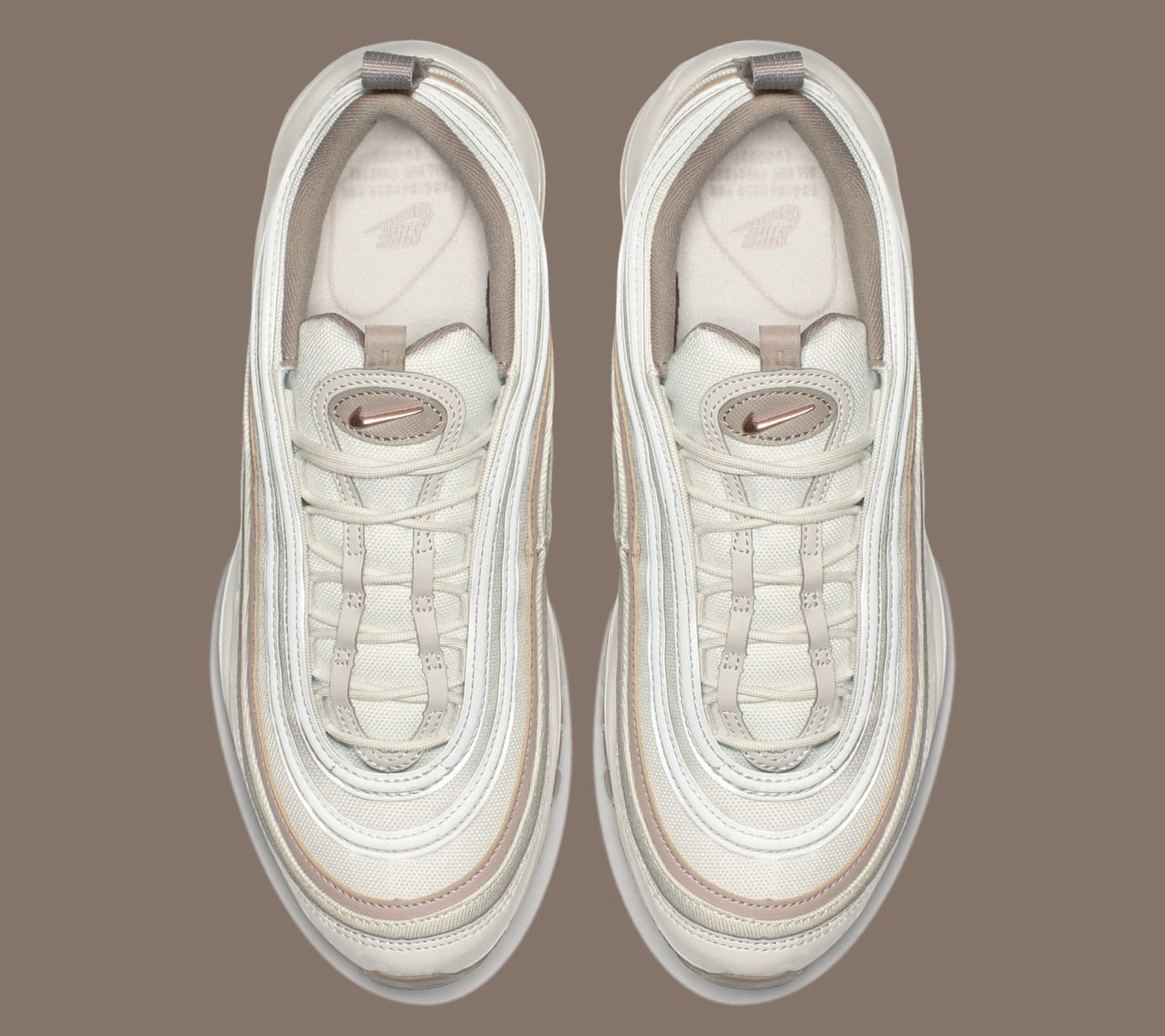 2295a9421ba34 Nike WMNS Air Max 97 Premium 'Light Bone/Diffused Taupe/Sepia Stone ...