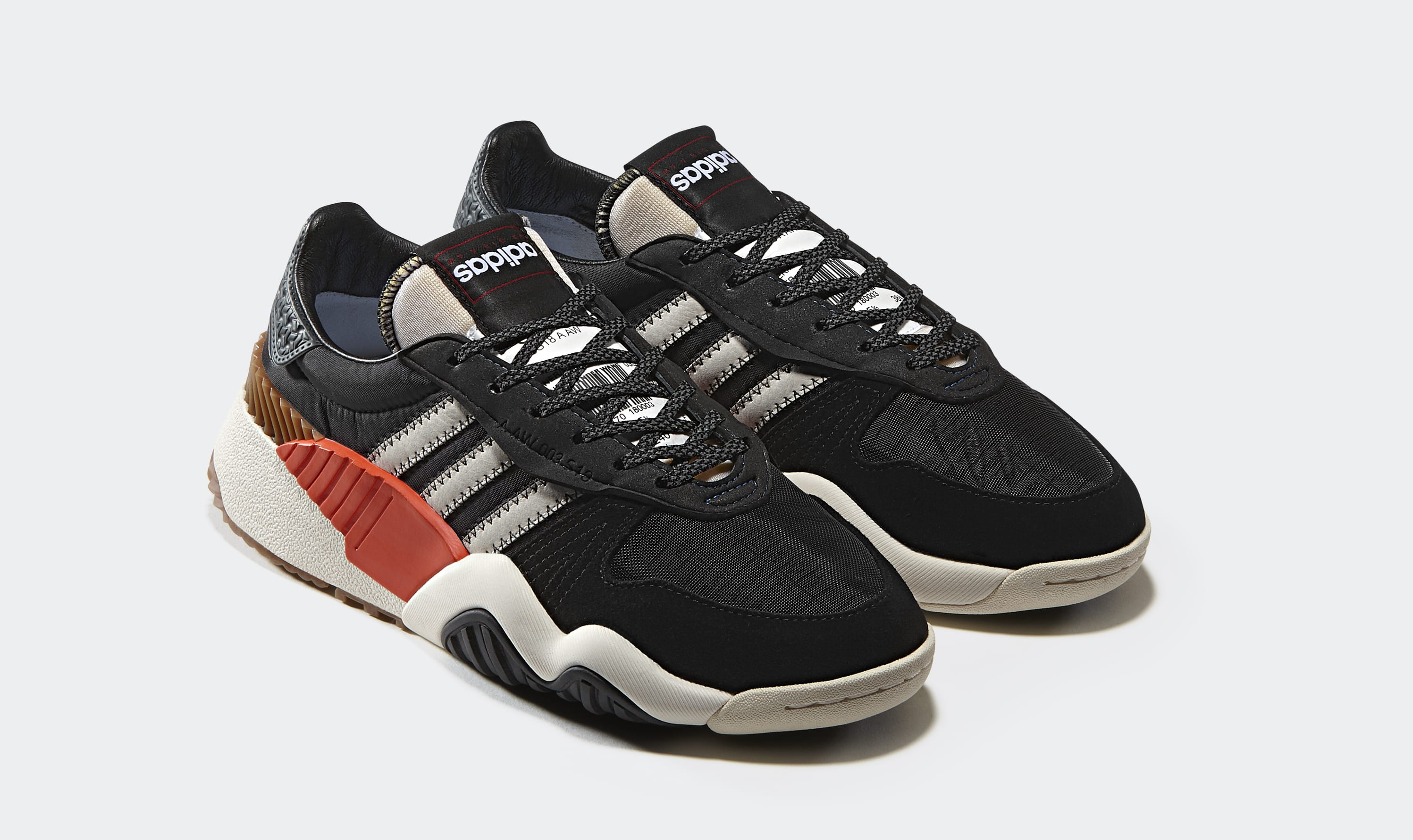 Alexander Wang x Adidas Turnout Trainer 'Core Black' AQ1237 (Pair)