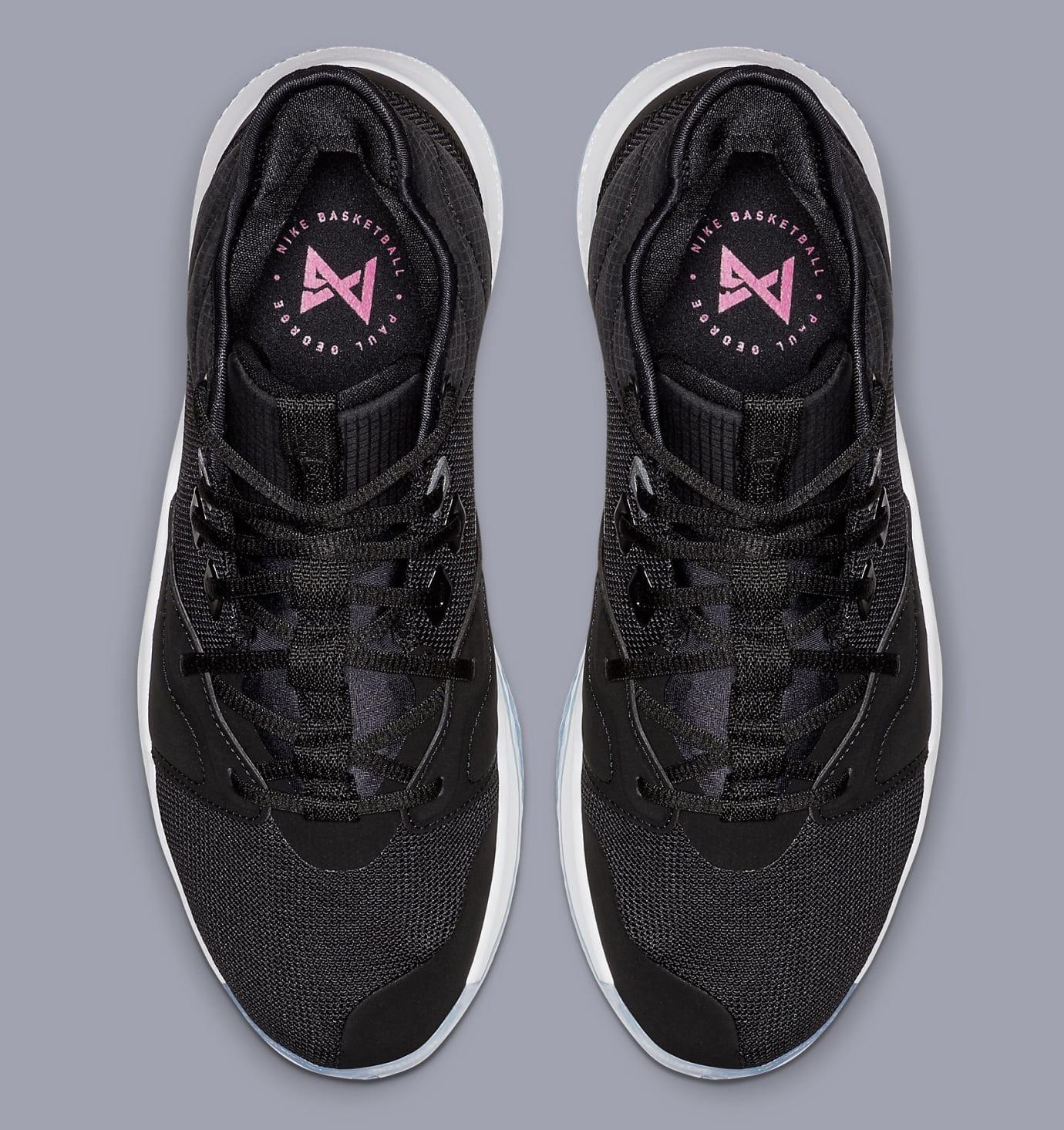 Nike PG 3 'Black/White-Laser Fuchsia' AO2607-001 Top