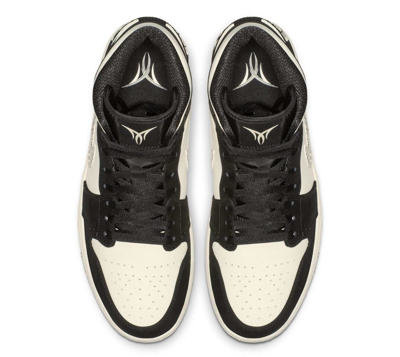 Air Jordan 1 Mid 'Equality' 852542-010 (Top)