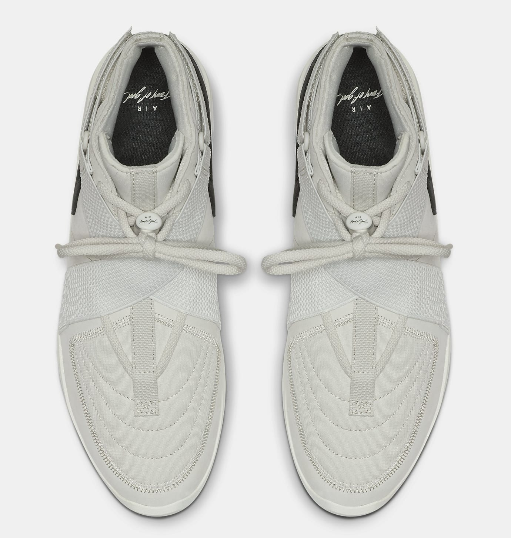 c44560f234ec Image via Nike Nike Air Fear of God 180  Grey  AT8087-001 Top