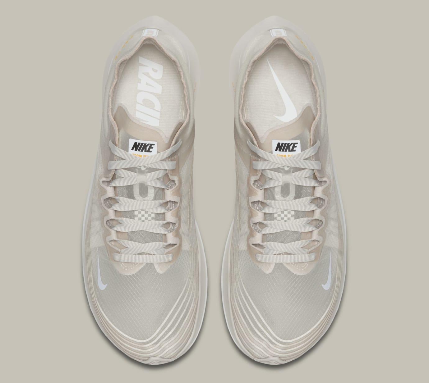 Nike Zoom Fly SP 'Light Bone' AJ9282-001 (Top)
