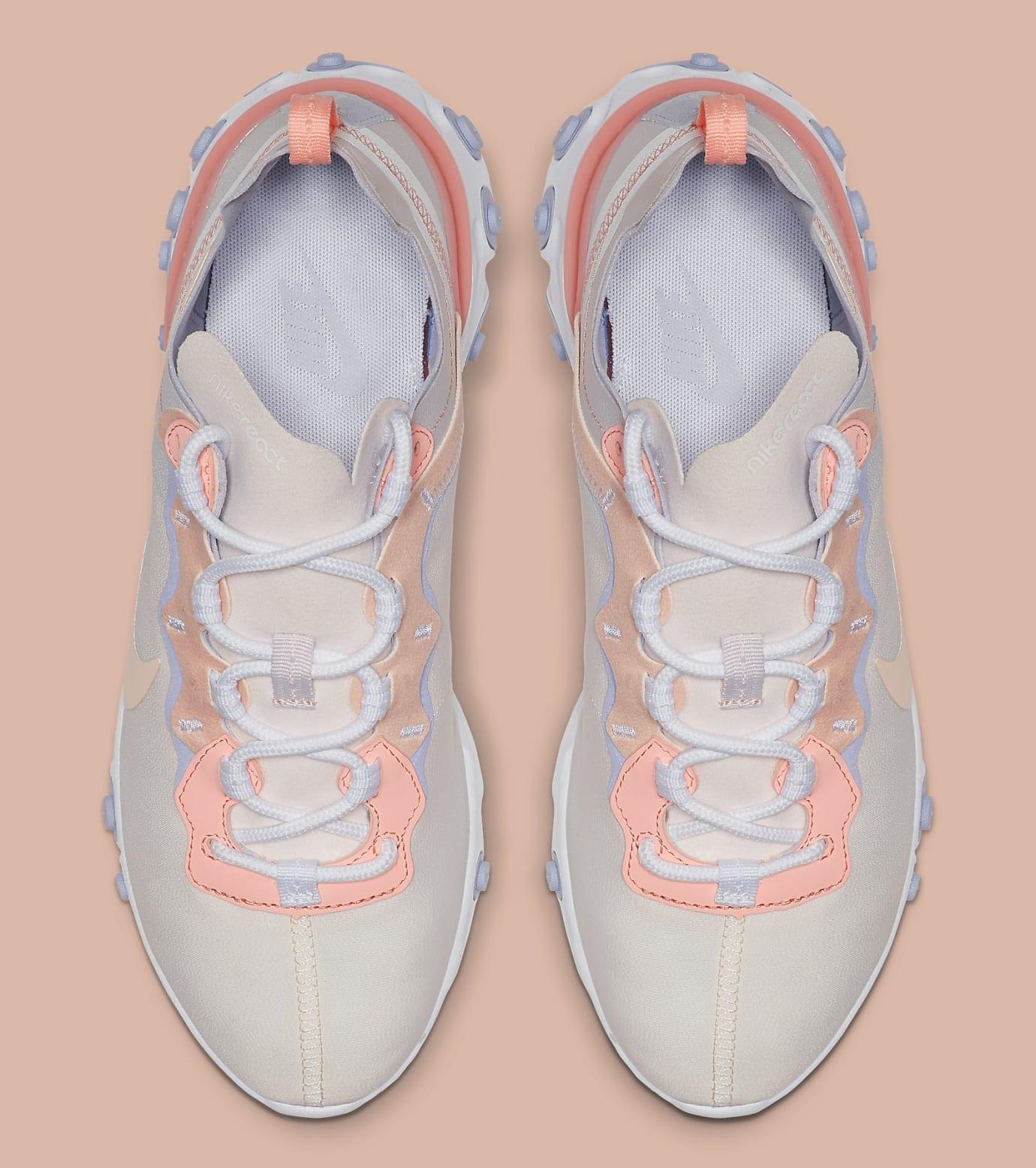 Nike Women's React Element 55 'Pale Pink' BQ2728-601 Top