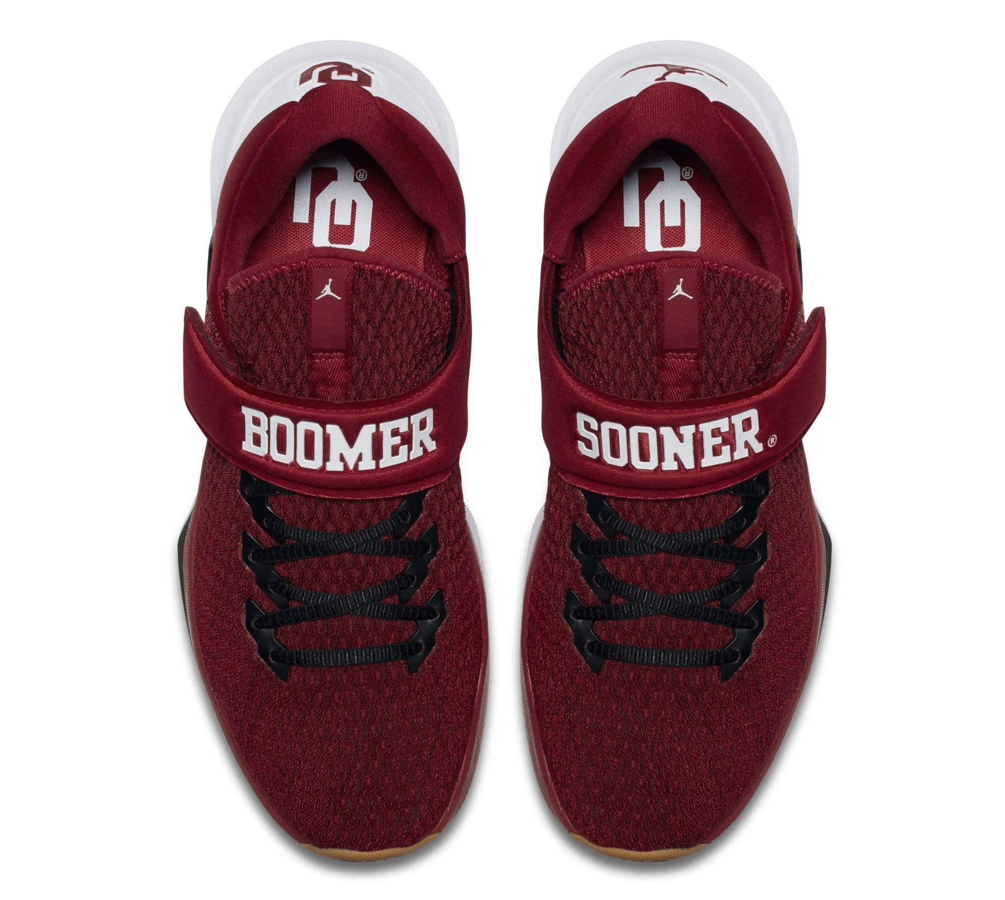 Jordan Trainer 3 Oklahoma Sooners Top