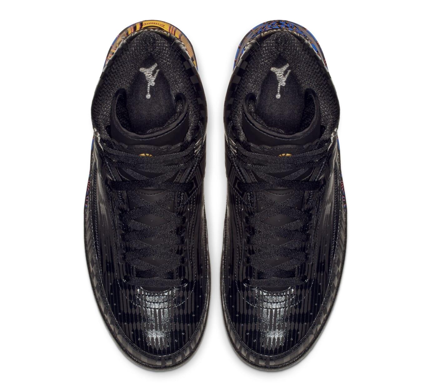 551a442b050669 Image via Nike Air Jordan 2  BHM  BQ7618-007 (Top)