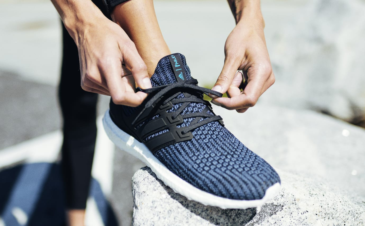 Parley x Adidas Ultra Boost 'Deep Ocean Blue' (On-Foot)